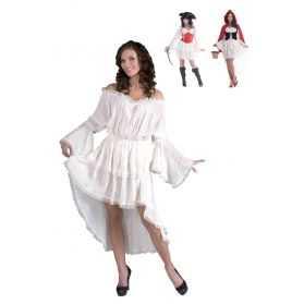 Chemise blanche femme en dentelle
