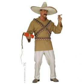 Déguisement Cow Boy Mexicain homme taille L