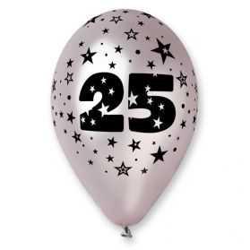 10 Ballons Noces d'Argent 25 ans de mariage
