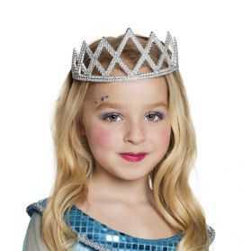Couronne de Princesse avec strass pour Enfant