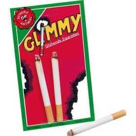 Fausses cigarettes allumées
