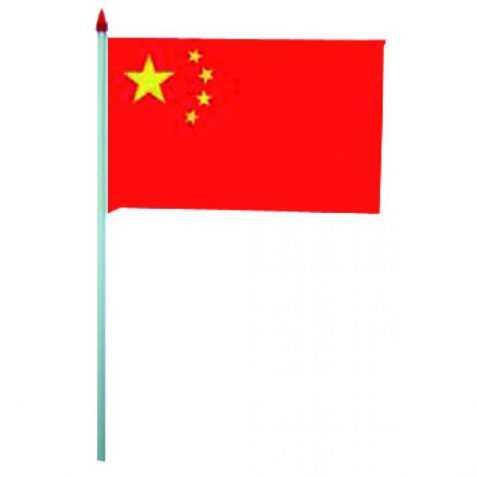 10 drapeaux Chine à agiter