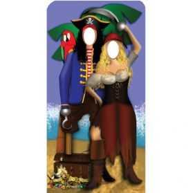 Décoration Pirates géante pour photos