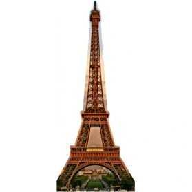 Décoration géante en forme de Tour Eiffel