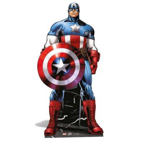 Décoration géante Captain America