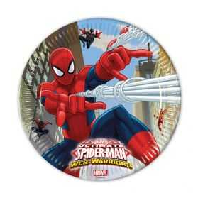 assiettes gouter anniversaire Spiderman