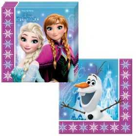20 serviettes papier Reine des neiges