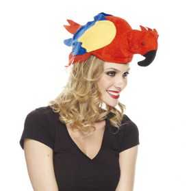 Chapeau pour se déguiser en Perroquet adulte