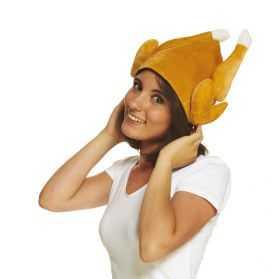 Chapeau pour se déguiser en Poulet rôti adulte