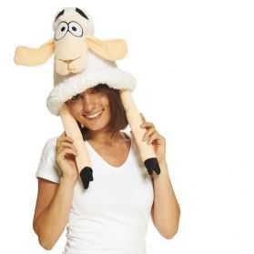 Chapeau pour se déguiser en Mouton adulte