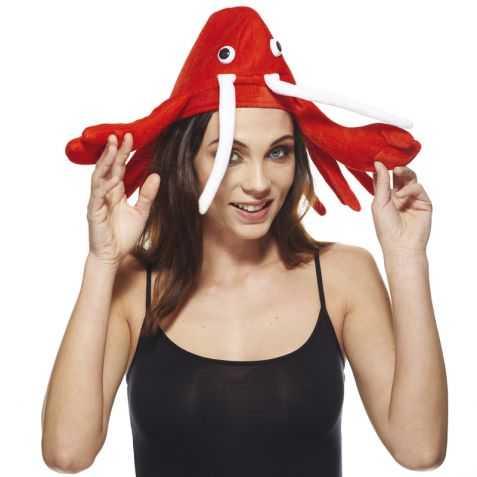 Chapeau pour se déguiser en Langouste adulte