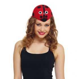 Chapeau pour se déguiser en Coccinelle adulte