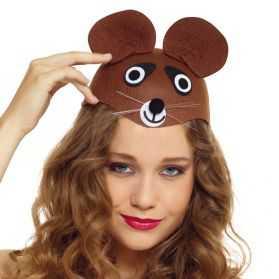 Chapeau pour se déguiser en Ours adulte
