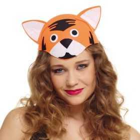 Chapeau pour se déguiser en Tigre adulte