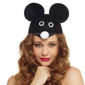 Chapeau pour se déguiser en Souris adulte