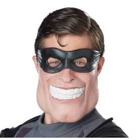 Demi Masque pour se déguiser en Vengeur masqué