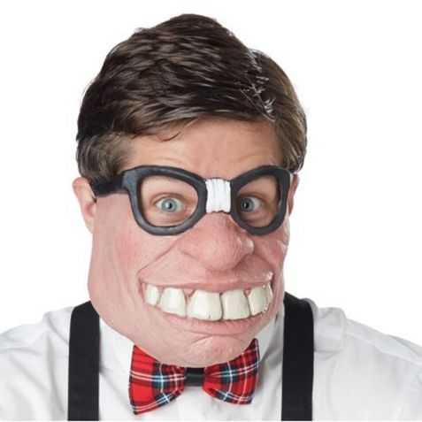 Demi Masque pour se déguiser en Premier de la classe