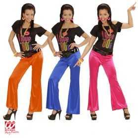 Pantalon femme pour soirée disco
