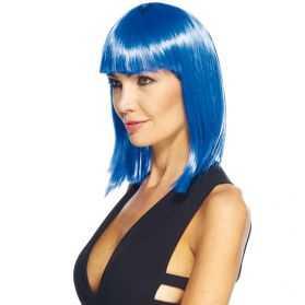 Perruque déguisement femme avec cheveux longs