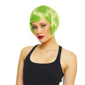 Perruque déguisement femme avec cheveux courts