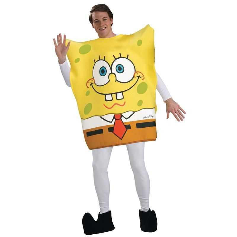 Deguisement bob l 39 ponge adulte costume bob l 39 ponge - Bob l eponge halloween ...