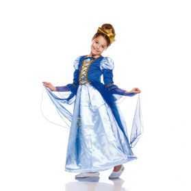 Robe déguisement de Reine enfant