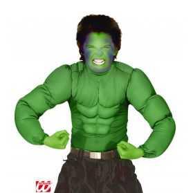 Chemise verte Monsieur Muscle enfant