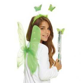 ailes de papillon fille