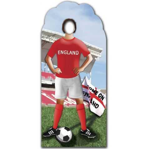 Figurine Jouer de foot anglais pour photo