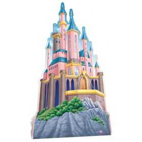 Figurine Château  de Disneyland géante