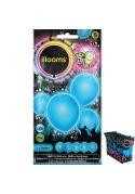 ballons gonflables lumineux bleus
