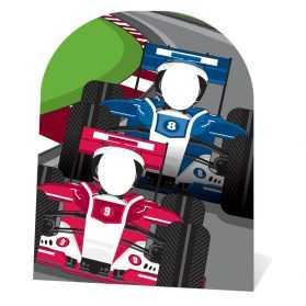 Figurine Course de Formule 1 pour photos anniversaire enfant