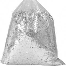1 kilo de paillettes Moyennes 1mm Argent