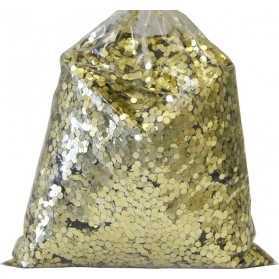 1 kilo de paillettes grosses 2mm Or