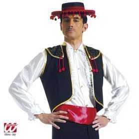 Gilet espagnol avec ceinture
