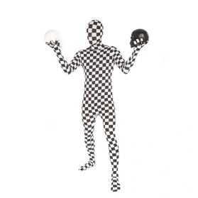 Morphsuit Damier noir et blanc
