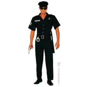 Déguisement uniforme de police américain