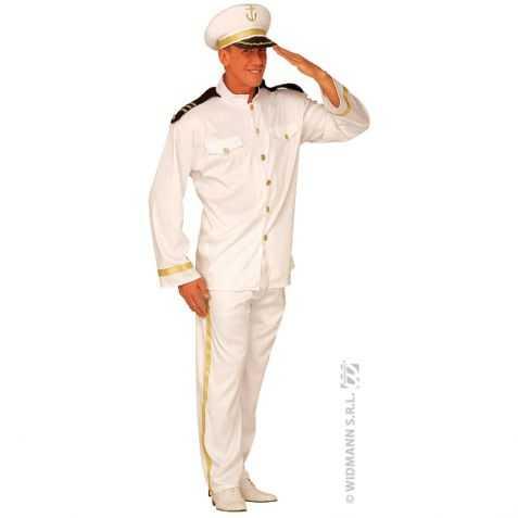 Déguisement uniforme de Capitaine de bateau