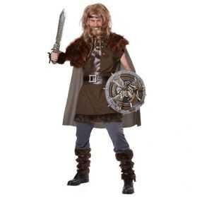 Déguisement Viking avec fourrure