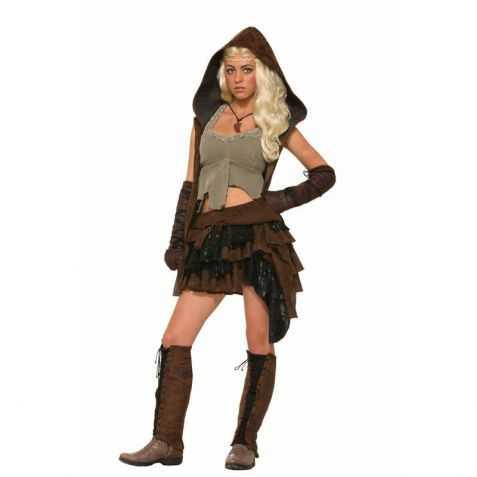 Costume médiéval pour femme - Déguisement médiéval adulte 5372cb7573f4
