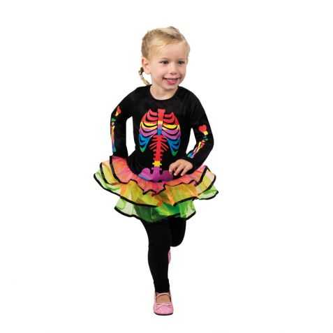 Costume halloween fille d guisement halloween 3 4 ans - Deguisement fille halloween ...