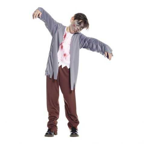 d guisement halloween gar on costume zombie gar on. Black Bedroom Furniture Sets. Home Design Ideas