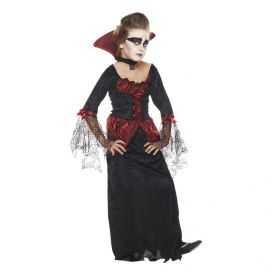 Robe velours de Vampire enfant