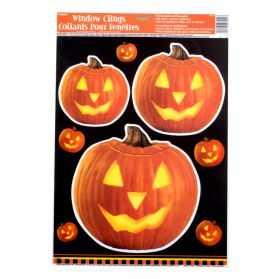 Décorations Halloween pour vitrine