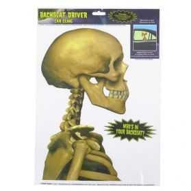 Décoration Squelette pour vitre