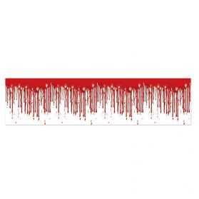 Décoration avec du sang qui dégouline