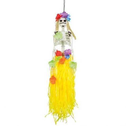 Mobile Squelette Danseuse hawaienne