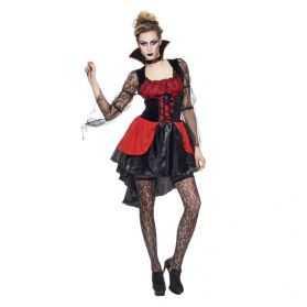 Robe courte Vampire femme adulte