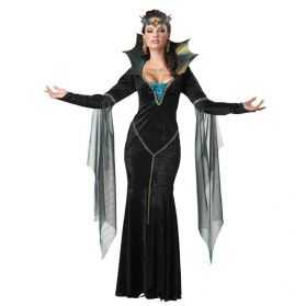 Robe de Reine maléfique adulte