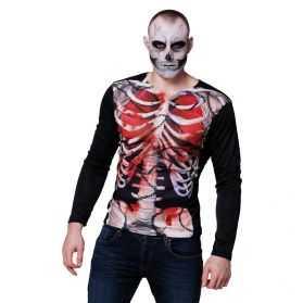 Tee shirt avec imprimé Squelette